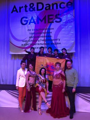 16 медалей на Art&Dance Games