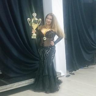 Кубок России по Профессионалам принадлежит нашей Виталии Шариной
