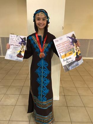 Мария Авдеева - Бронзовый призер Чемпионата Мира!!!