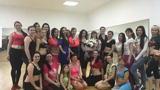 На мастер-классах Луцко Екатерины в Ростове были танцоры из 6 городов России
