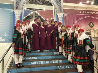 ДЖАЙРАН на выставке «Тюбетейка»