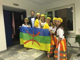 Джайран на концерте Посольства Алжира