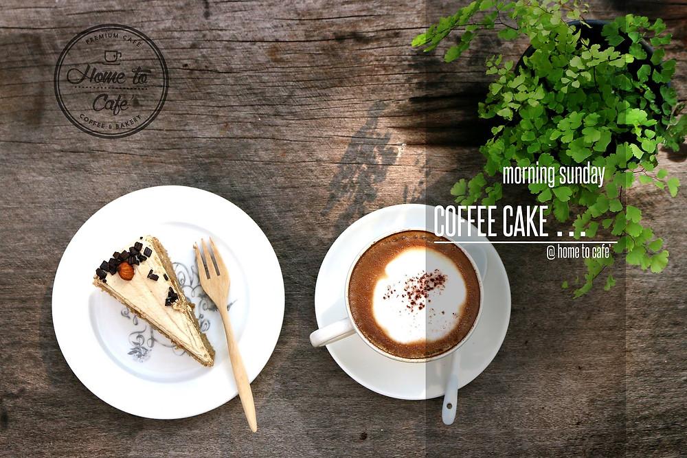 กาแฟ เค้ก Home to cafe