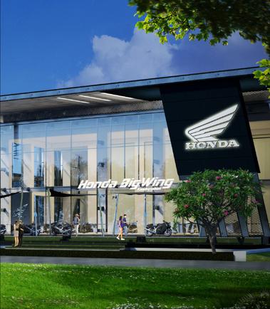 รูปแบบหน้าตาโครงการ Big Arena