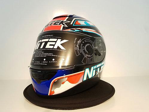 Nitek P1 Red/Blue Camo Thailand Edition