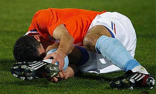 อาการบาดเจ็บจากการเล่นฟุตบอล