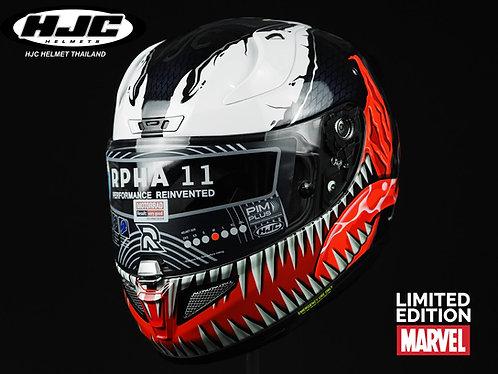 HJC รุ่น Rpha11 Venom MARVEL (MC1)
