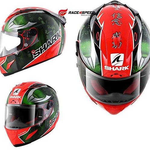 SHARK RACE-R PRO SYKES Red Green Chrom