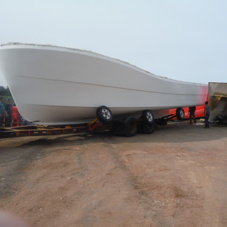 First hull out of the mold