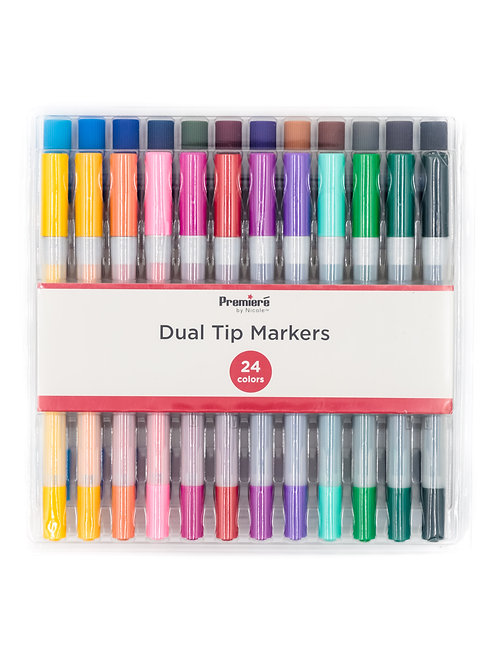 Premiere Dual Tip Markers