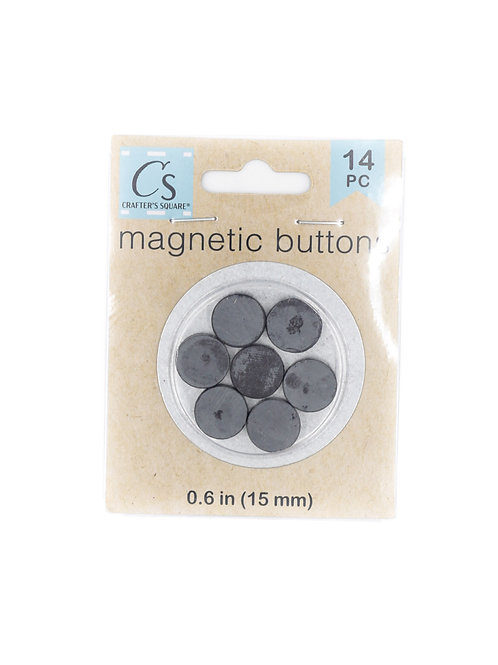 Crafter's Square Magnetic Buttons