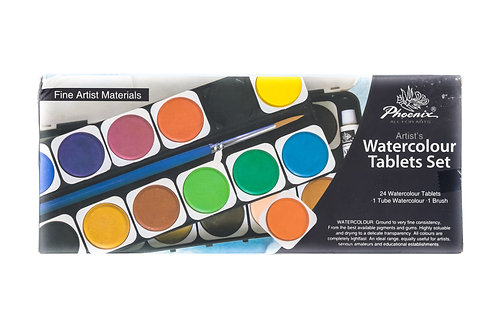 Phoenix Watercolour Tablets Set
