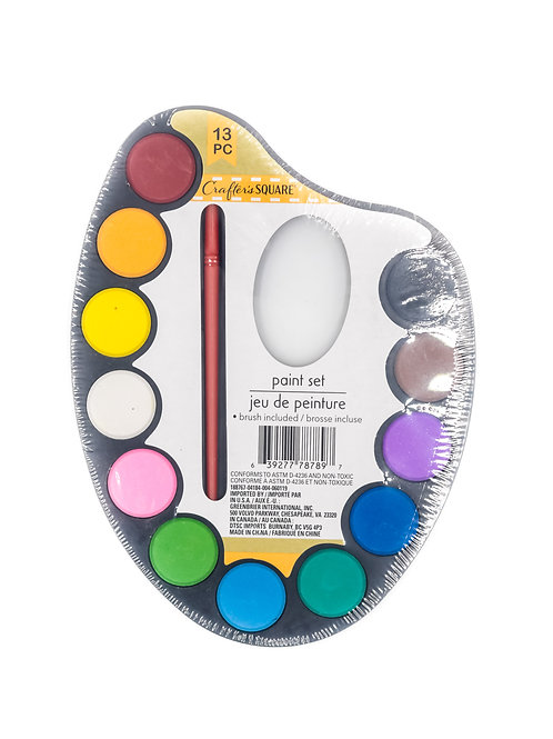 Crafter's Square 13 watercolor Palette