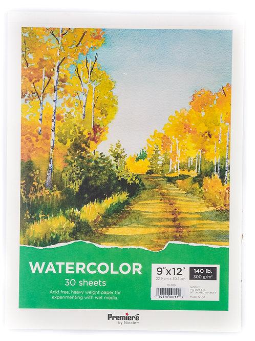 Premiere Watercolor Paper Pad