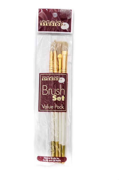 Marseilles Studios Value Brush Set