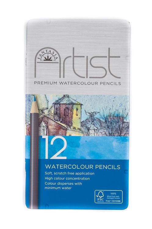 Fantasia Artist Premium Watercolour Pencils
