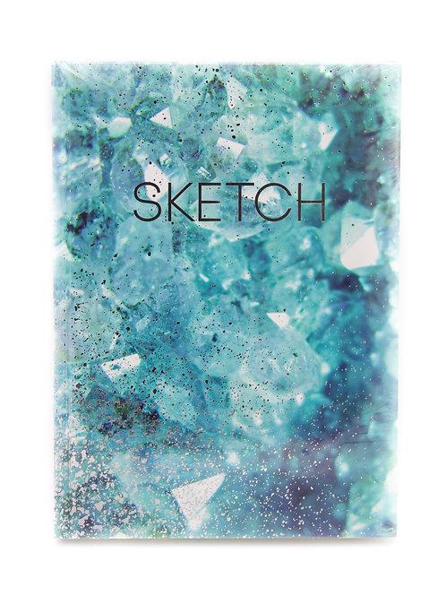 Colorful 8x11 Sketch Book
