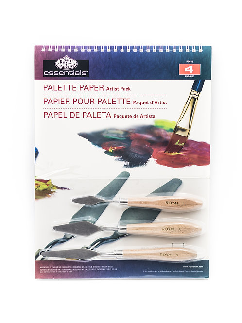 Palette Paper and Palette Knife Kit
