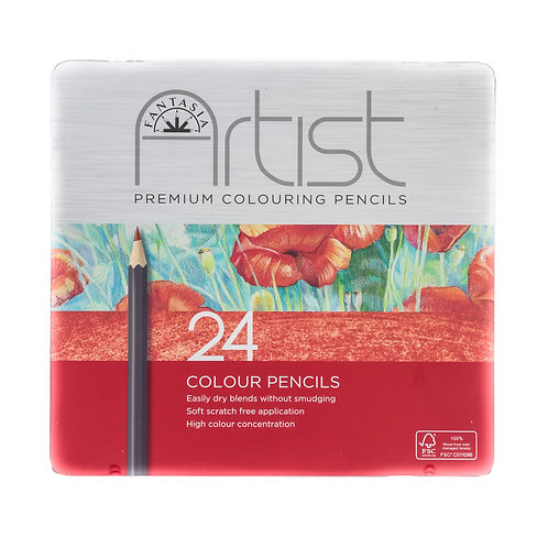 Fantasia Artist Premium Colouring Pencils