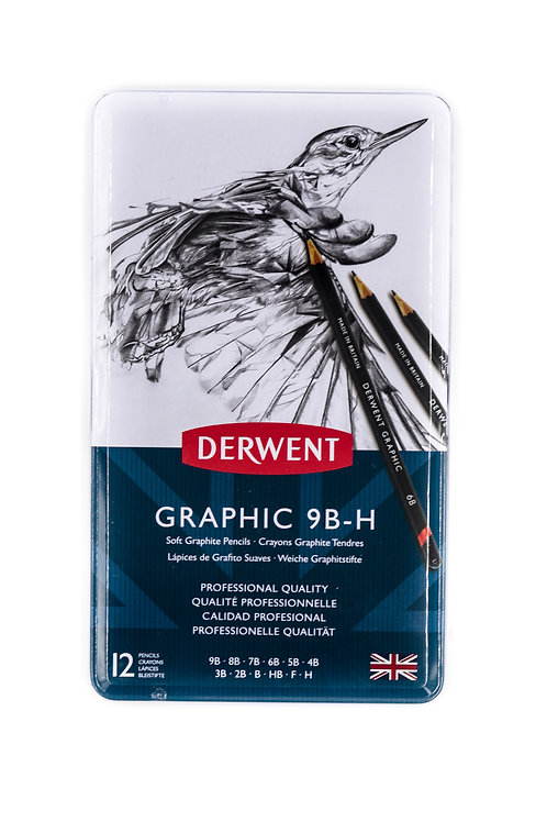 Derwent Graphic 9B-H