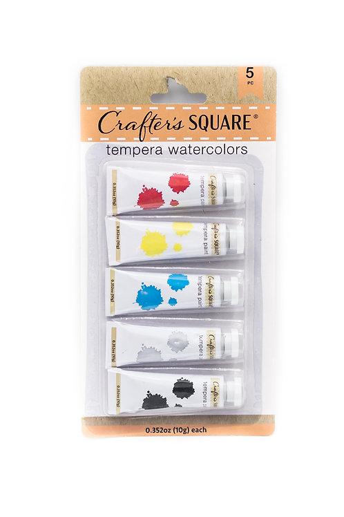 Tempera Watercolors