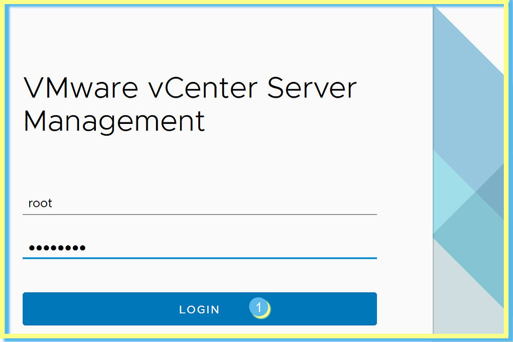 vCenter VAMI Login