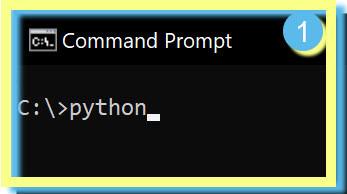 Python command Windows