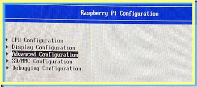 ESXi Arm UEFI Configuration Advanced