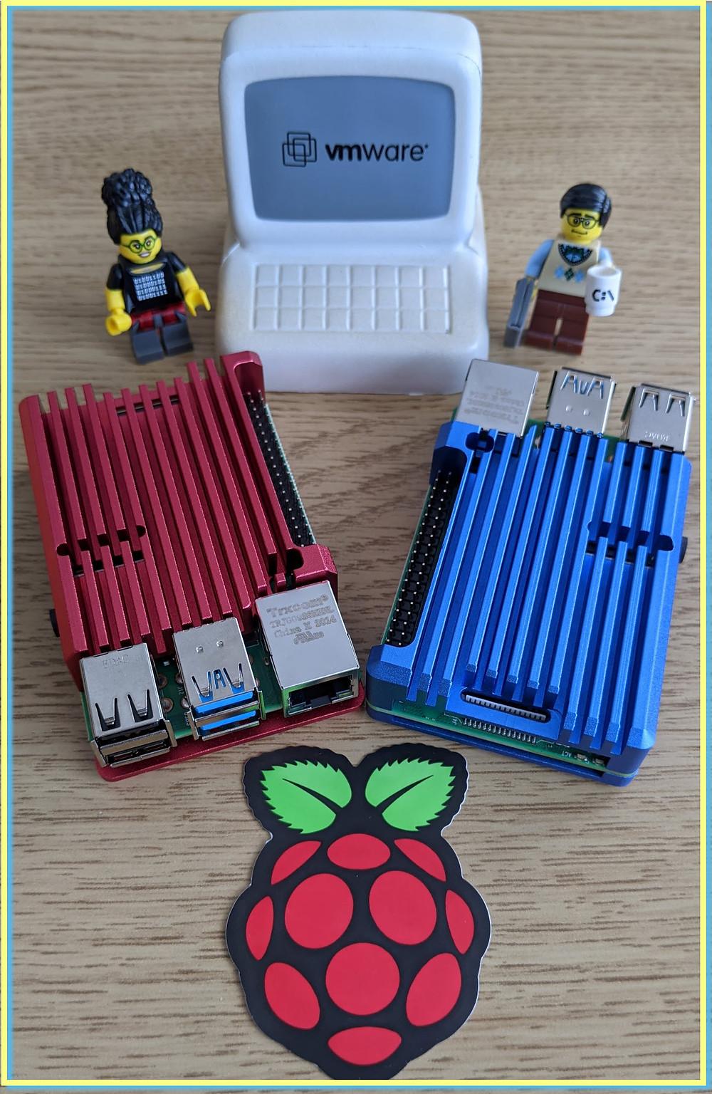 ESXi Arm on Raspberry Pi heatsink case