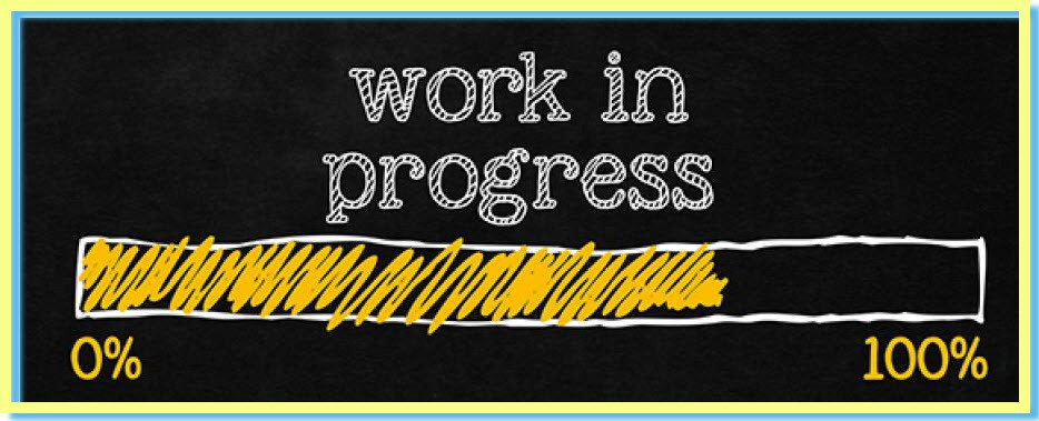 Work In Progress Bar