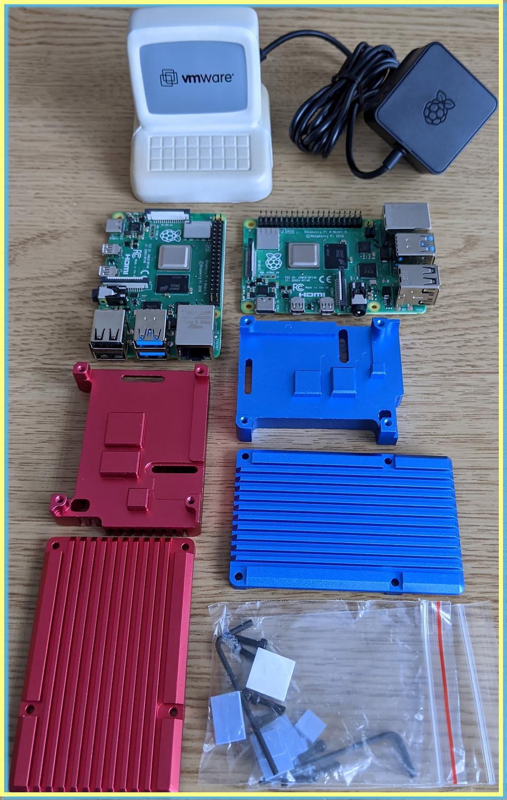 ESXi Arm, Raspberry Pi Picade Case