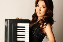 Profile Shot Yamaha Keyboard