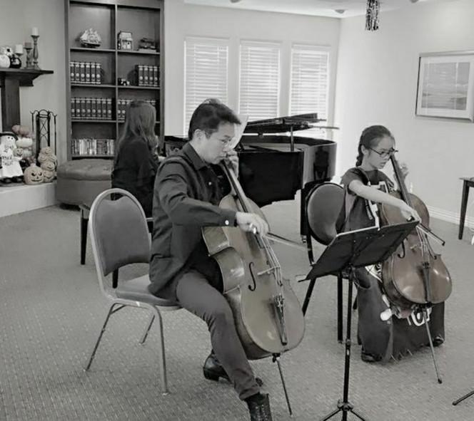 Vivaldi Concerto for Two Cellos & Piano/Harpsichord