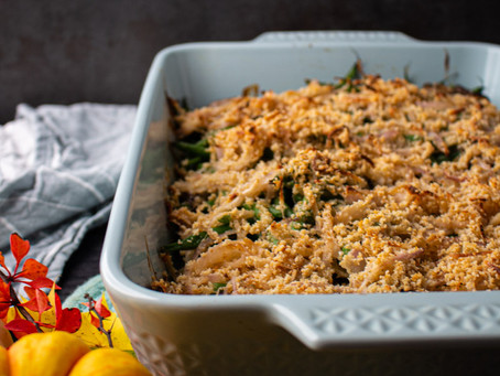 Cozy Green Bean Casserole