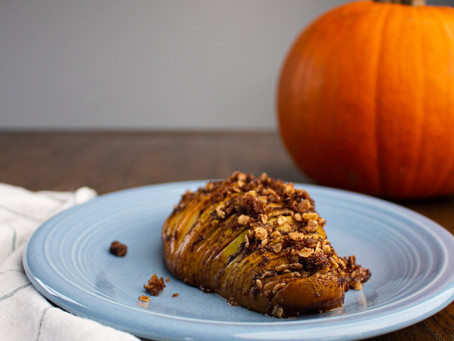 Holiday Hasselback Pears
