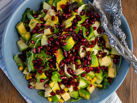 Holiday Pomegranate and Endive Salad