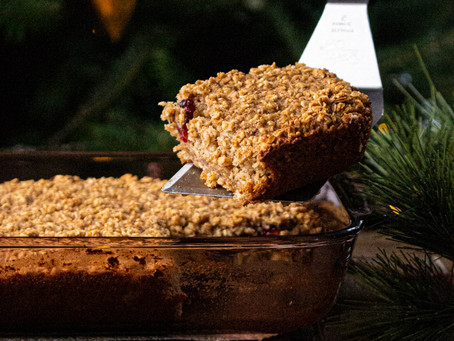 Cranberry Oatmeal Cookie Baked Oatmeal