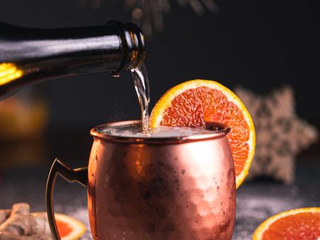 Spiced Orange Mule