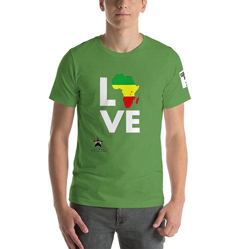 """I Love Africa"" Short-Sleeve Unisex T-Shirt"