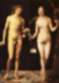 デューラー「アダムとエバ」.jpg