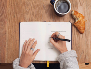Journaling as an anti-stress tool