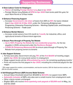 Solidarity Budget Singapore 2020