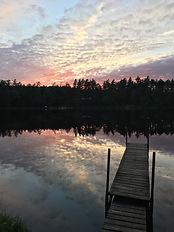 Long Pond Adirondack Sunset