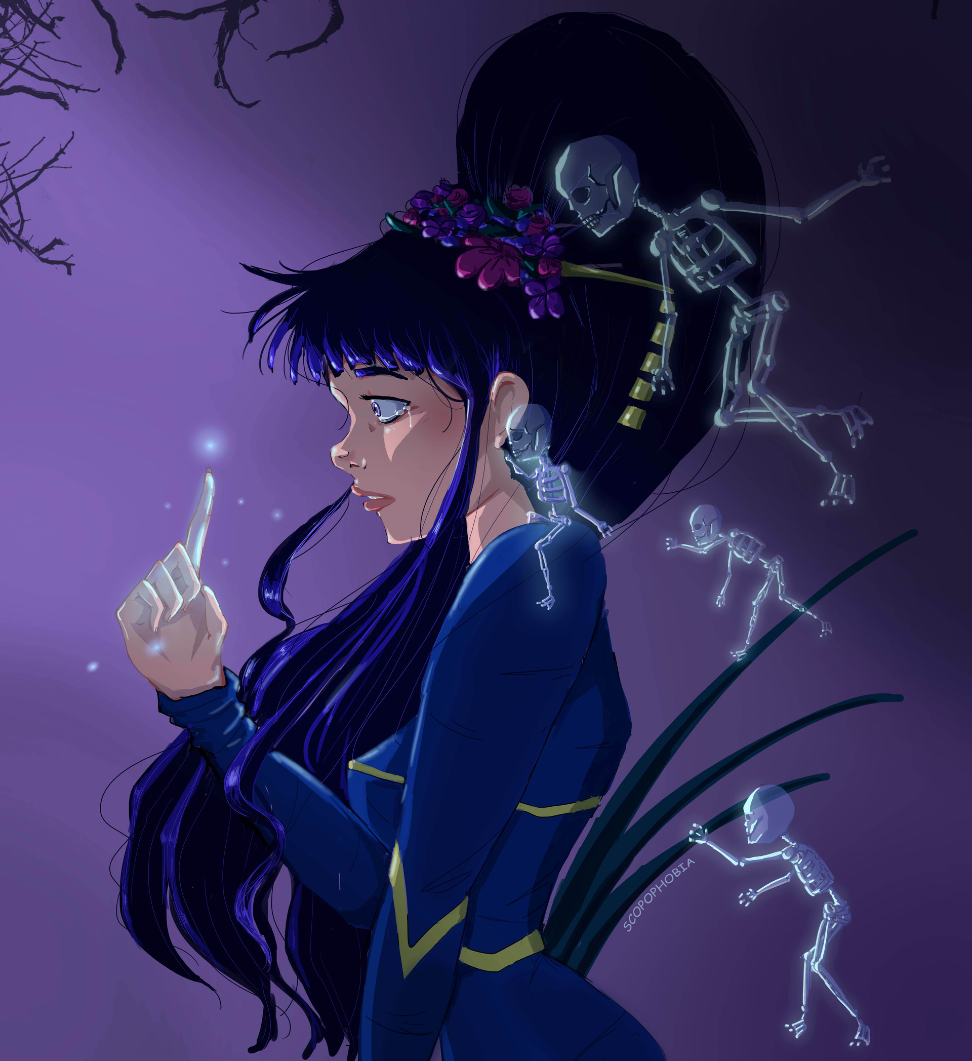 Persephone-Character Design/Illustration, 2018