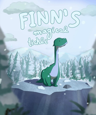 Fanart for Finn's Magical Tickle, 2020