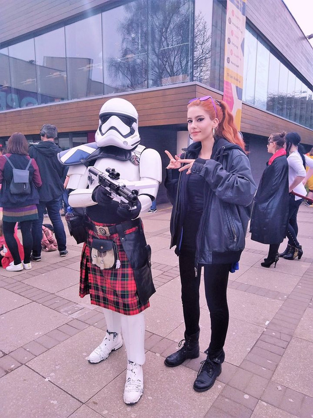 Attending DeeCon at University of Dundee, 2018