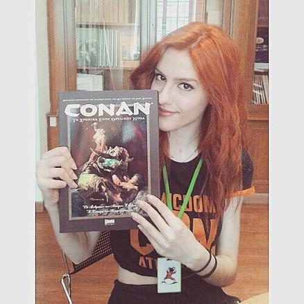 Volunteering at Comicdom Convention, Athens 2016