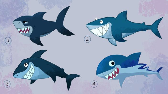 Character Design for Shark, 2019