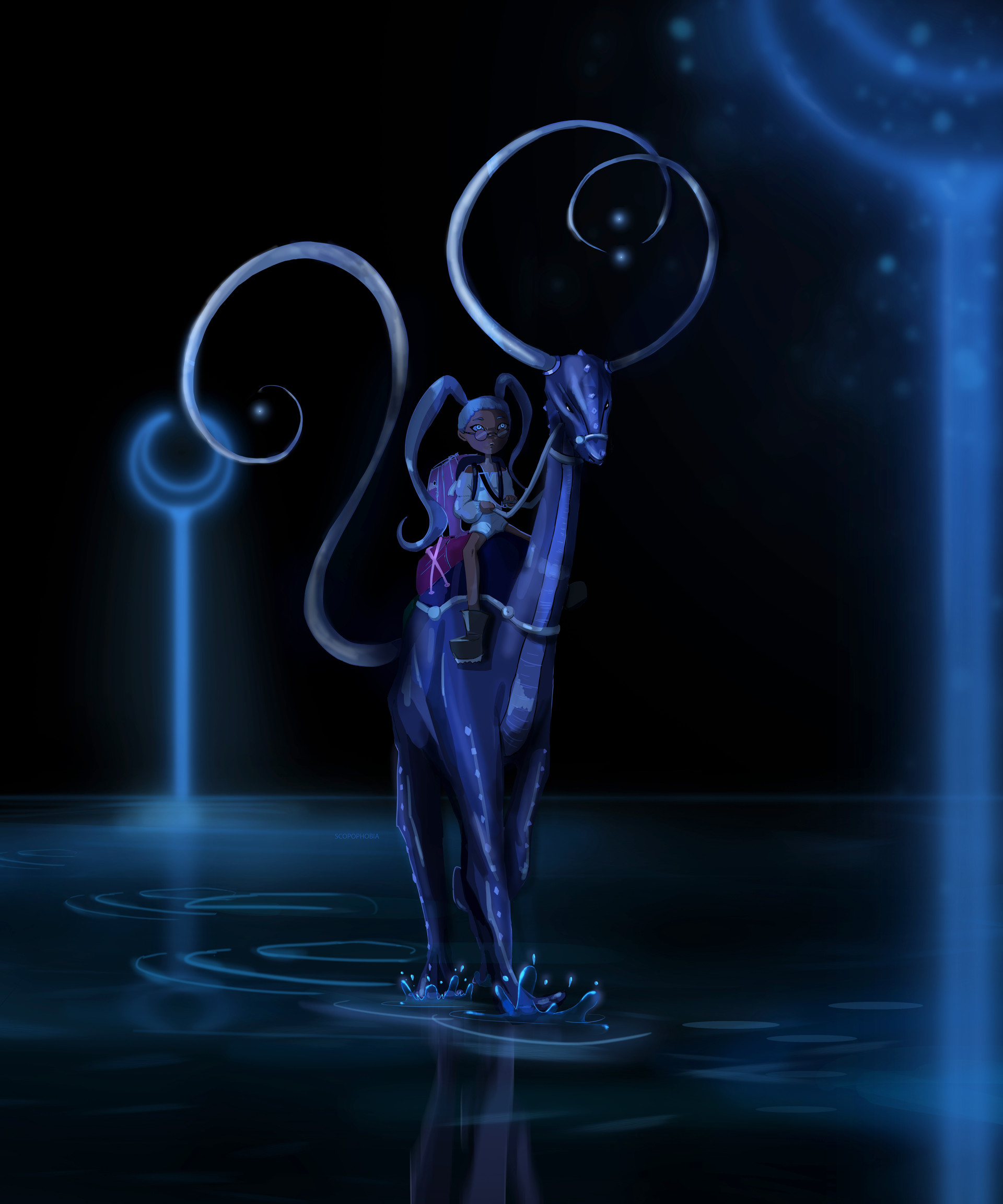 Moonwalker-Concept Art for Alex in Carrotland