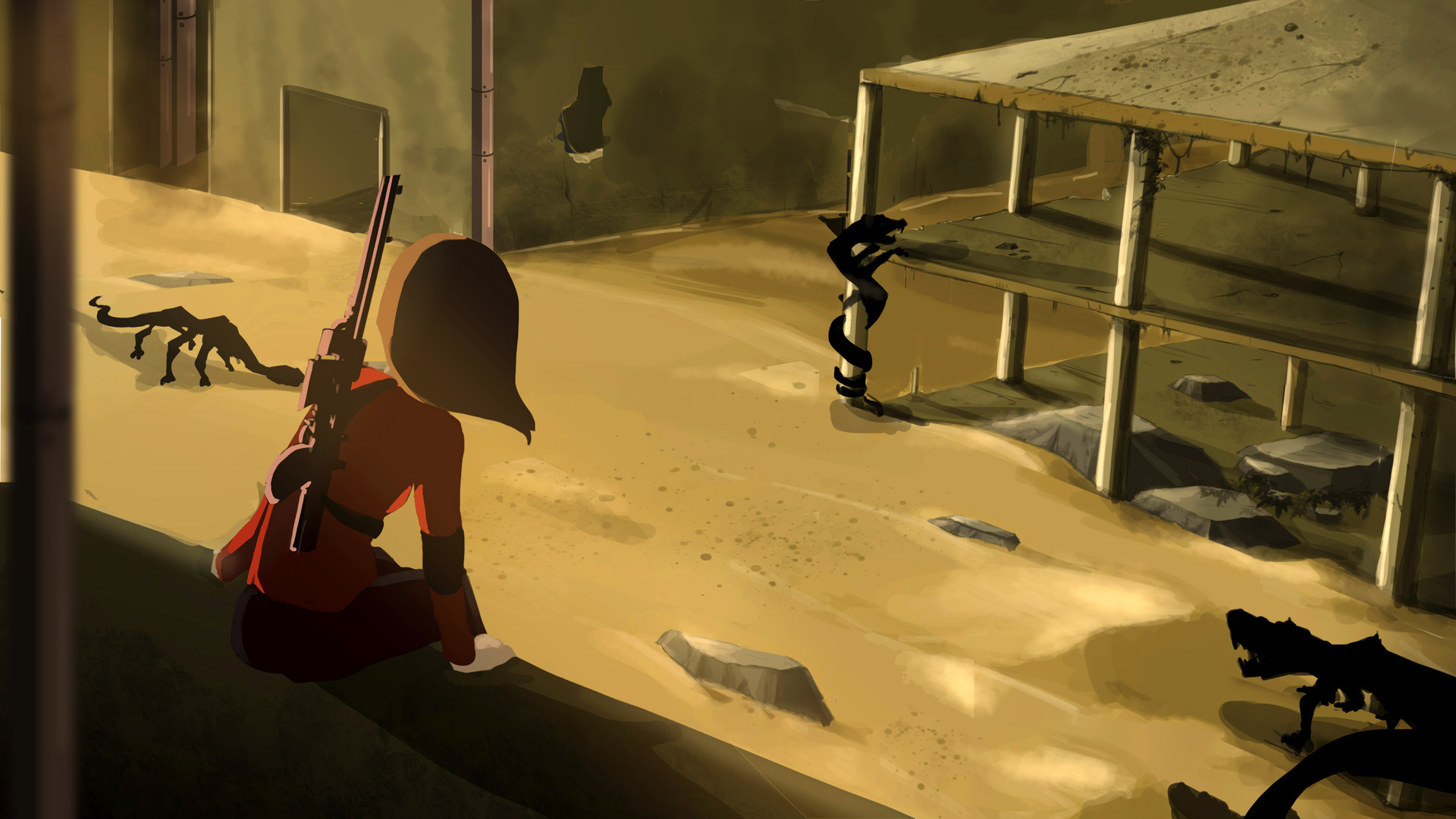 Sand Apocalypse-Illustration, 2019